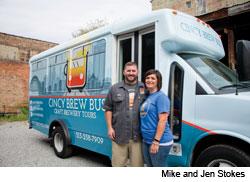 All Aboard the Cincy Brew Bus!